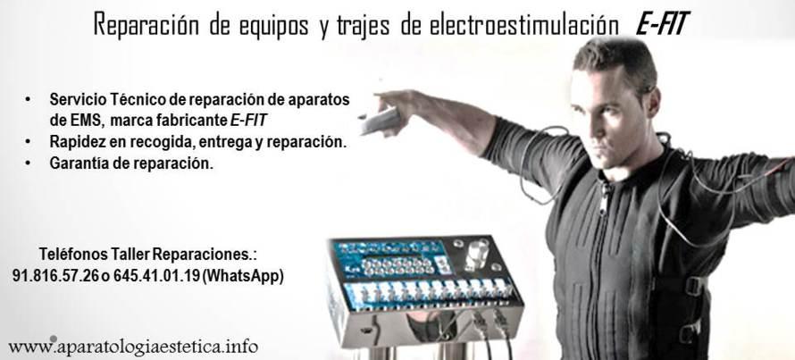 Reparación equipos EMS  E-FIT