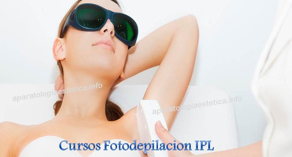 curso fototerapias fotodepilación
