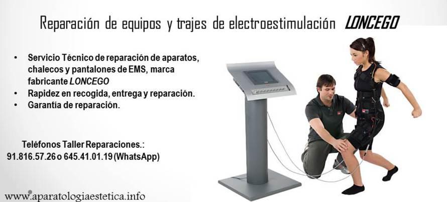 reparación equipos EMS Loncego