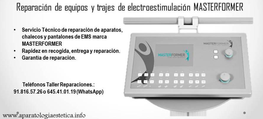 reparación equipos EMS MasterFormer