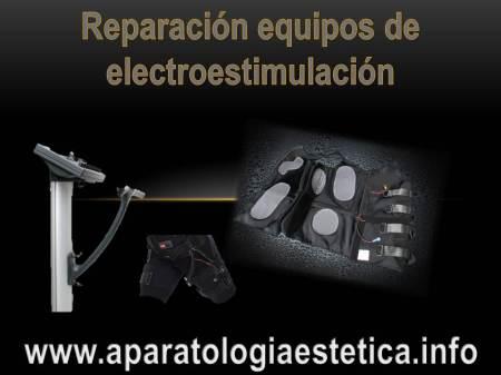 reparación aparatos eléctroestimulación