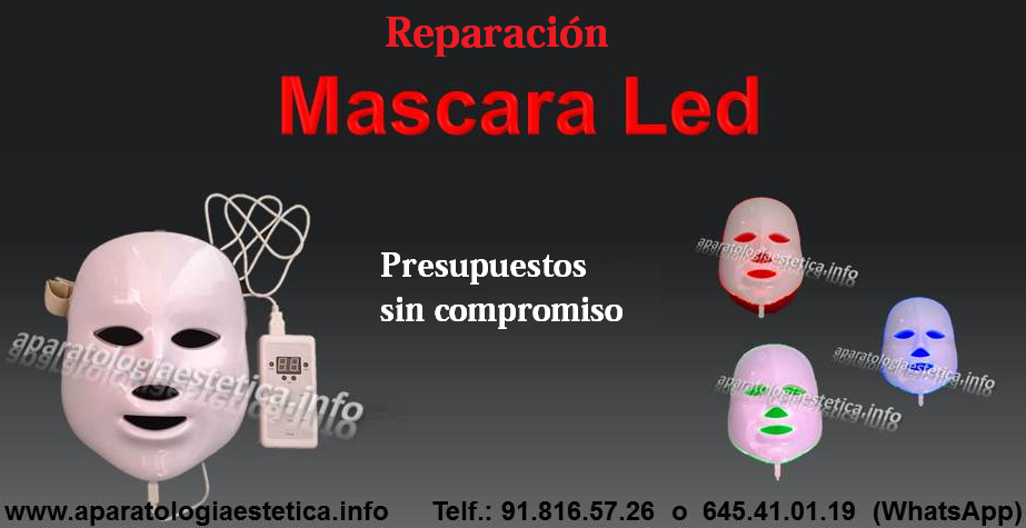 reparación máscaras led