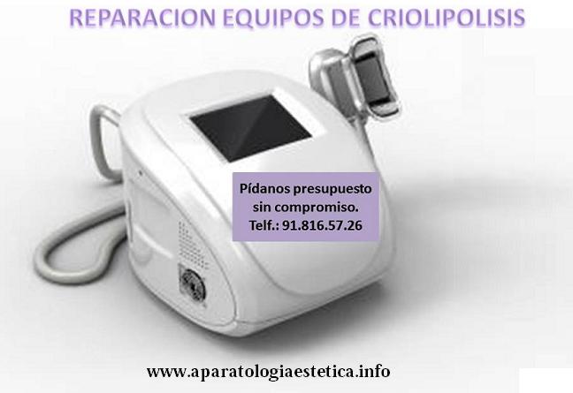 reparación criolipolisis