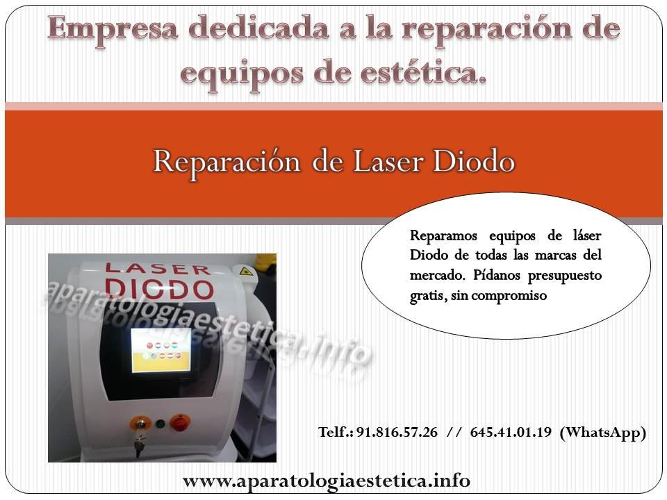 reparacion láser diodo