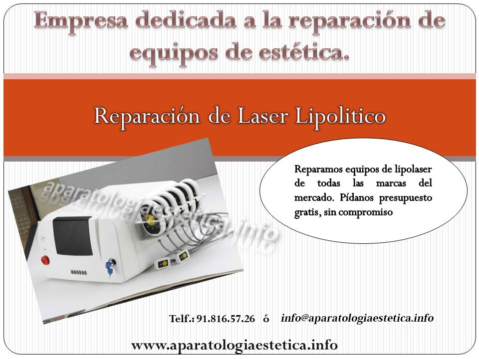 reparacion lipolaser láser lipolitico