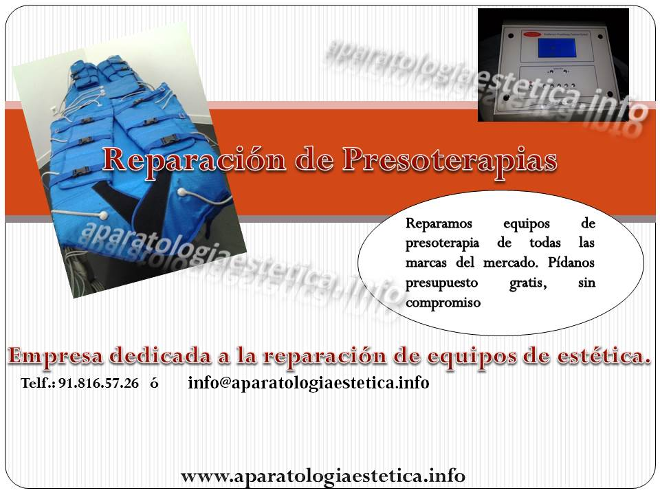 reparacion presoterapia